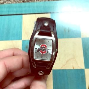 Accessories - Ohio State watch leather band